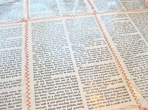 Make your own book fabric!