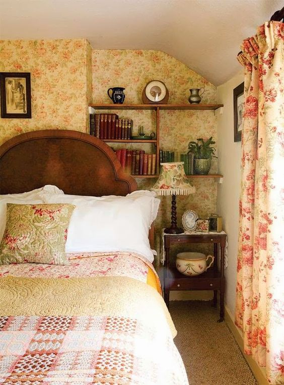 Welsh cottages and cottage bedrooms on pinterest for Country cottage bedroom