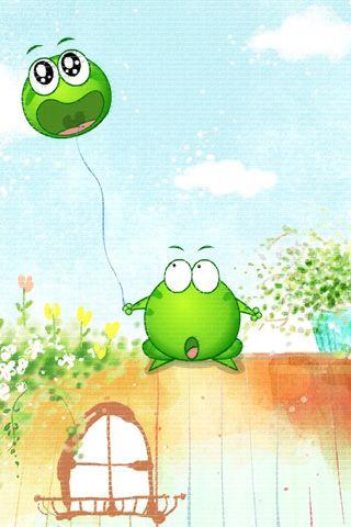 Hd frog cartoon wallpaper cute frog cartoon mung bean - Frog cartoon wallpaper ...