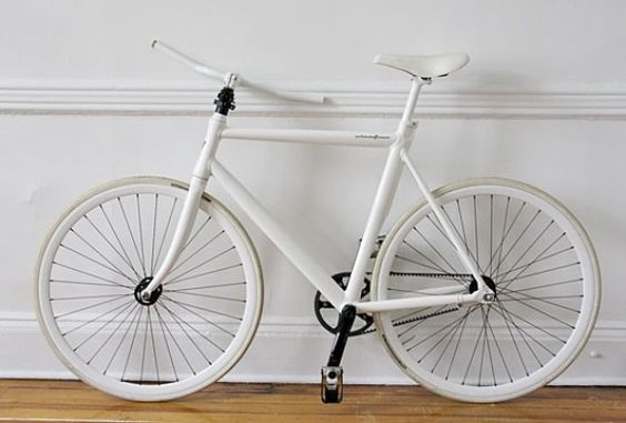simple idea - thin bike slices your bike in half