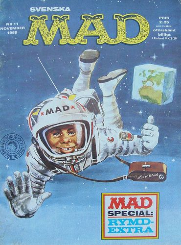 Alfred E Neuman in space 1969 | Space Exploration ...