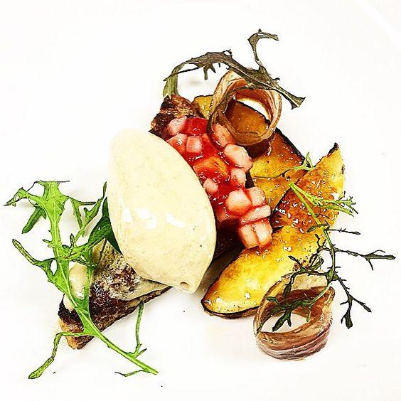 Foie gras mousse house cured duck prosciutto French toast brûléed white peach and compote #foie #foiegras #peaches #frenchtoast #duck #prosciutto #thestaffcanteen #michelin #truecooks #expertfoods  #beautifulcuisines #theartofplating #wildchefs #nyc #chef #cheflife #chefsroll #dontshootthechef #chefstalk #ChefsOfInstagram #food #foodie #foodgasm #foodporn #instachef #foodstarz #truecooks #FOURmagazine #gastroart #gastronogram #zagat by chefrylo88