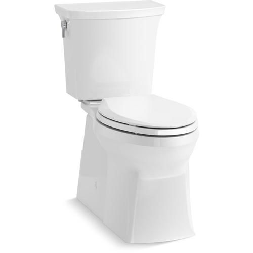 Two Piece Toilet Patented Readylock Installation System Is A