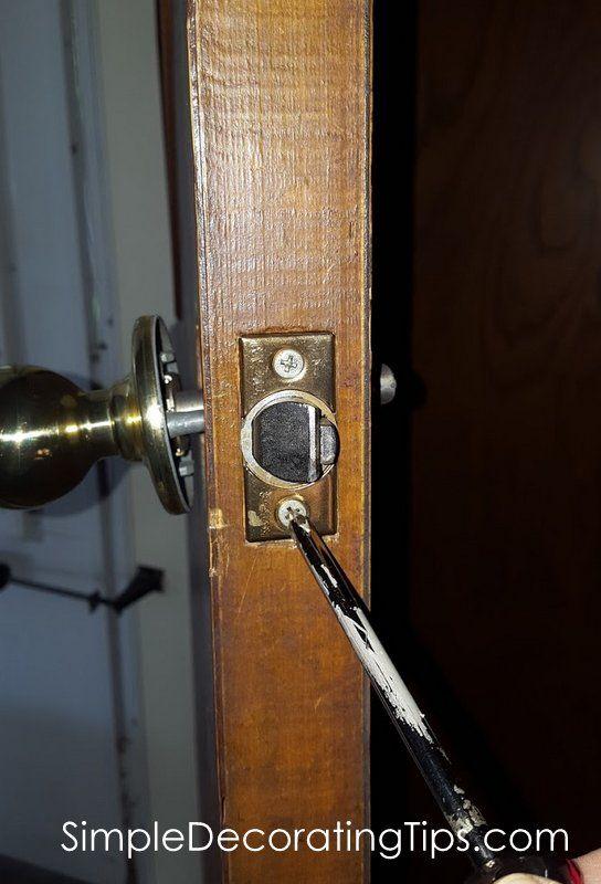 How To Change A Door Lock Door Locks Smart Door Locks Doors