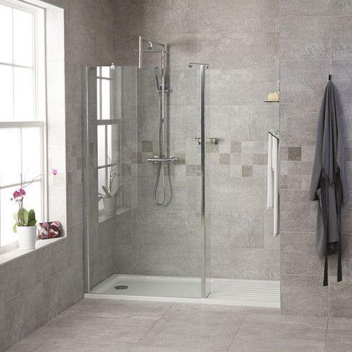 1850 X 1200 Walk In Glass Shower Screen Shower Screen Shower Stall Glass Shower Enclosures