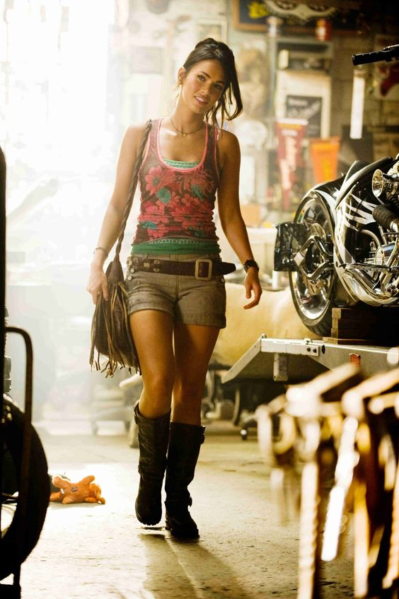 MIKAELA BANES   Character   Transformers, Transformers: Revenge of the Fallen   Played by Megan Fox (in 2007 & 2009)   A female from Earth who assisted the Autobots in both their battle at Mission City & then Egypt against the Decepticons. She is a skilled auto mechanic being trained by her father as early as childhood.   #mikaelabanes #transformers #film