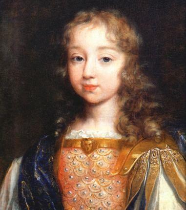 Le Roi Louis le Quatorze de la France - King Louis the Fourteenth of France  Portrait at 8 years old by Philippe De Champaigne
