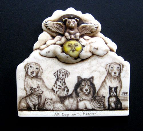 Angel dog lab corgie yorkie boston terrier pug golden retriever  wall plaque by moosupvalleydesigns on Etsy https://www.etsy.com/listing/98937679/angel-dog-lab-corgie-yorkie-boston