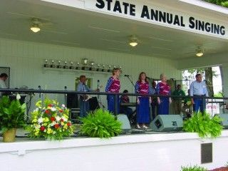 State Annual Singing Convention Celebrates 96th Year - click to learn more about the history of this old and popular event.