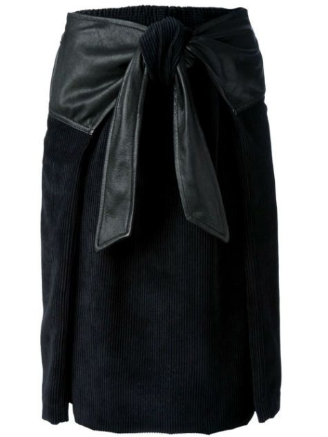 front knotted cord skirt : damir doma