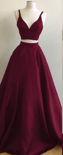 49++ Cheap burgundy prom dress info