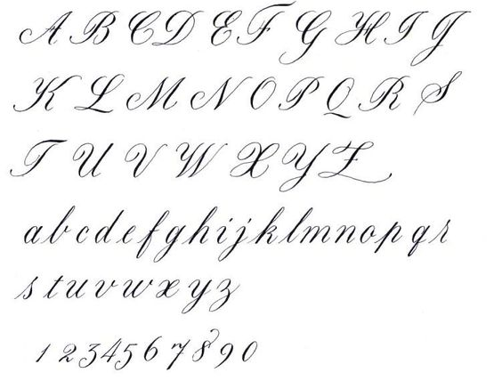I Need To Make My Own Calligraphy Alphabet Cursive
