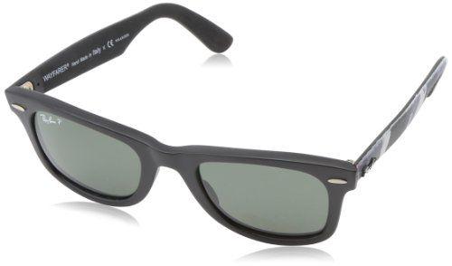 Ray Ban Unisex Sonnenbrille Wayfarer Original Gr Small Herstellergrosse 50 Mehrfarbig Multi Schwarz 606658 Protectiv Ray Ban Wayfarer Sonnenbrille Brille