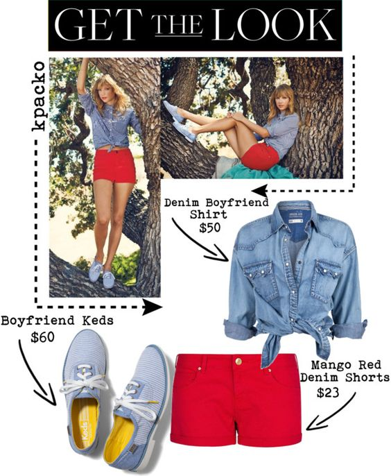 """Get The Look: Taylor Swift Keds Campaign"" by kpacko on Polyvore"