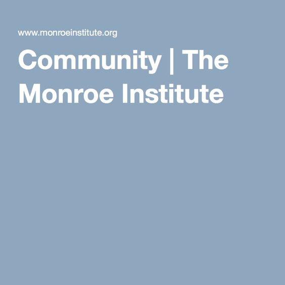 Community | The Monroe Institute