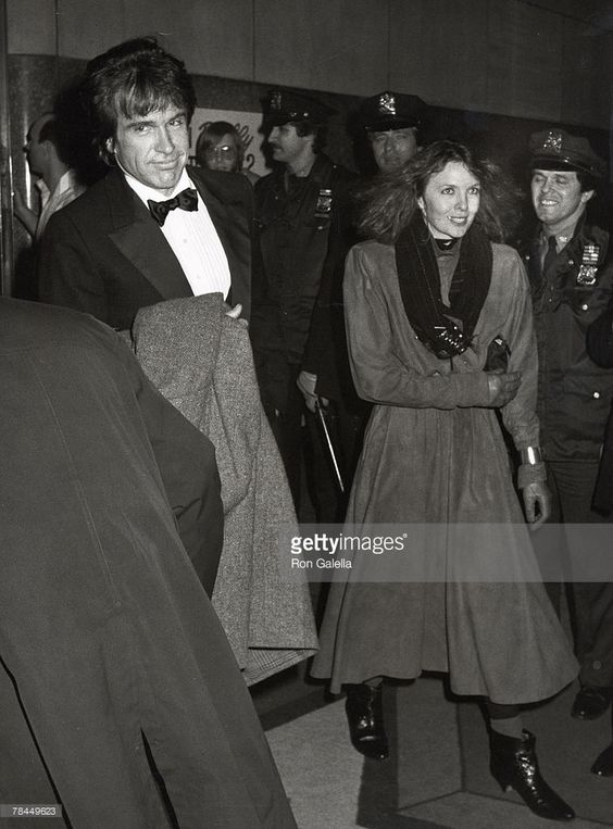 Warren Beatty and Diane Keaton