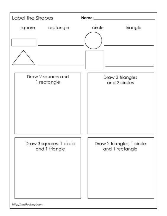 Number Names Worksheets geometry 1 worksheets : Activities, Geometry worksheets and Geometry on Pinterest