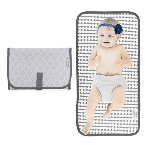 Baby Portable Changing Pad Diaper Bag Travel Mat Station Grey Compact Portable Baby Changing Pad Portable Changing Pad Portable Diaper Changing Pad