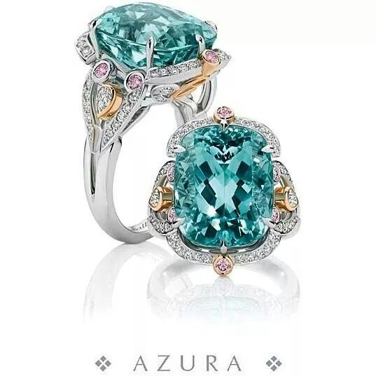 Need a cocktail ring for mozambique tourmaline