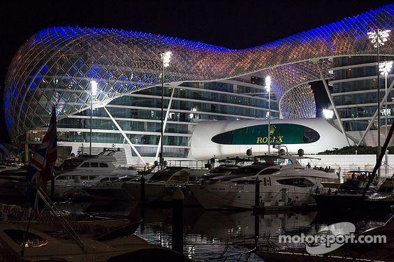 Yas Marina Abu Dhabi  #Abu Dhabi F1 Hospitality Packages