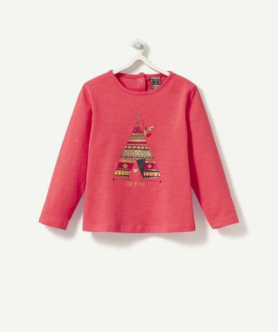 Un tee-shirt de petite squaw ! 8,99 € http://www.t-a-o.com/mode-bebe-fille/tee-shirt/le-tee-shirt-galop-rouge-red-73254.html