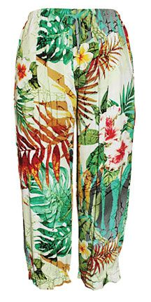 It's a Hawaii thing. Jams World Womens Beach Pants - Na Pali - W757 NAPA