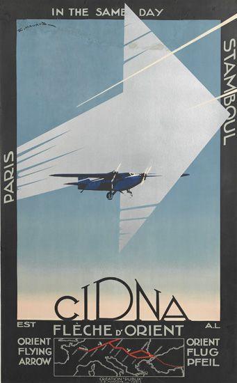 EDMOND MAURUS (DATES UNKNOWN) CIDNA / FLÈCHE D'ORIENT. 1931.