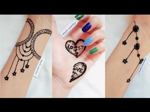 Mehndi Full Hand Most Beautiful Heart Mehndi Design Simple Easy Mehndi Design Youtube Mehndi Designs Desain Henna Henna