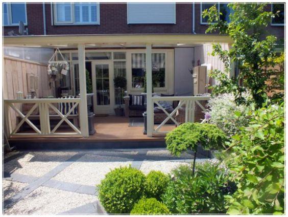 Veranda aan rijtjeshuis google zoeken tuin renovatie pinterest tuin en veranda 39 s - Overdekt terras in aluminium ...