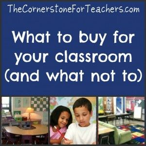 Wondering what to buy for your classroom
