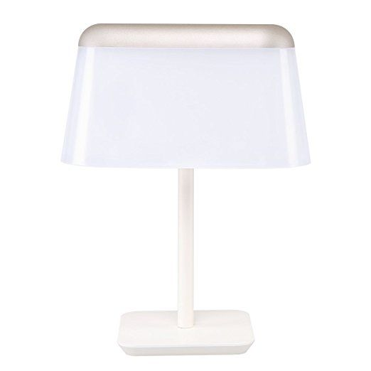 Ukon Touch Table Lamp With Usb Charging Port 15 Mins Delay Dimmable Lamp Metal Glare Free Sandblast Si Dimmable Lamp Touch Table Lamps Lighting Inspiration