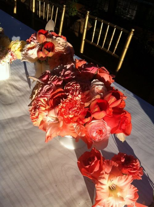 Coral Colored Flowers For Weddings Coral Color Fab Pinterest