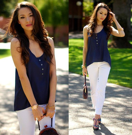 white jeans! I need white jeans! | Outfit of the Day | Pinterest ...