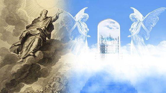 Het boek van Henoch, de beschrijvingen van ruimtevaart en andere hemelse dimensies