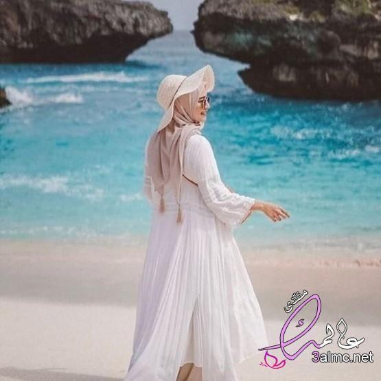 ملابس البحر للمحجبات لبس بحر محتشم ملابس البحر للبنات الكبار Fashion Hijab