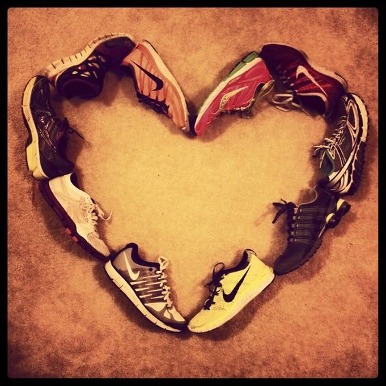 I ♥ RUNNING!  These shoes have carried me hundreds of miles :)