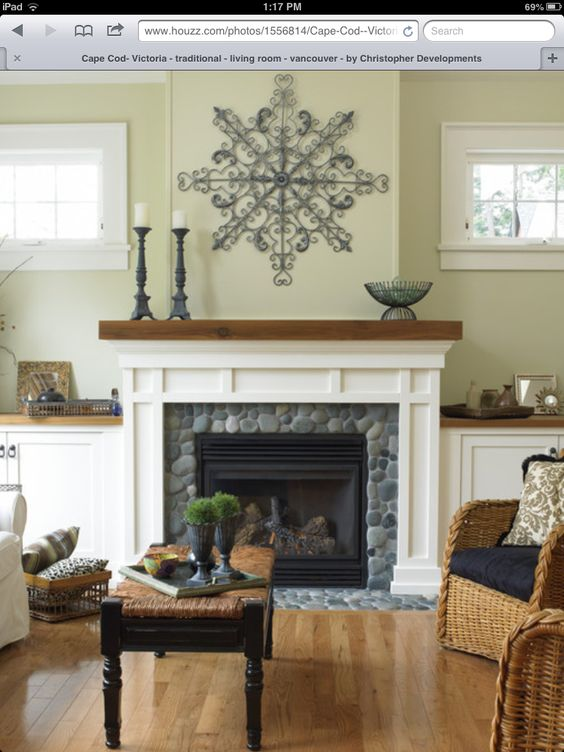 Ideas For Refacing Fireplace Hearth Home Decor Pinterest Fireplace Hearth Rivers And Nice