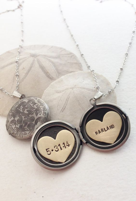 Custom written paper necklaces
