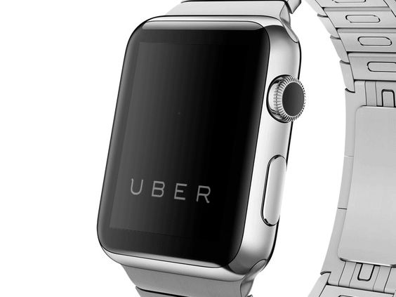 Uber - Apple Watch by Dawson Whitfield