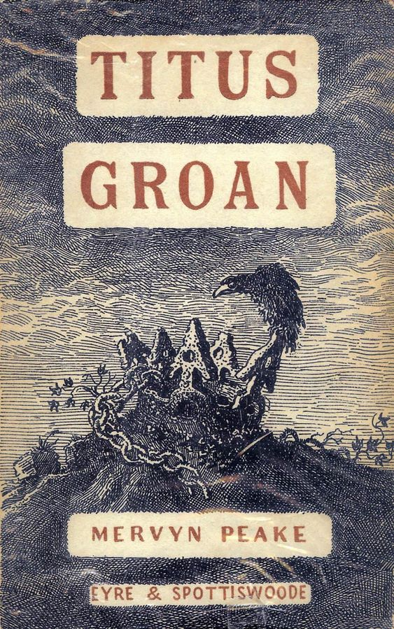 Titus Groan - Mervyn Peake.   After five or six abortive attempts as a teenager, I decided it was about time that I read my mother's favourite book all the way through. I don't think I've ever read a book with such vivid imagery - it's amazing. I may have to wait for the strange dreams to stop until I read the next part of the trilogy though...: