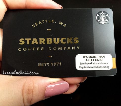 Limited Edition Starbucks Card Seattle Creditcards Credit Cards Design Credit Card Design Loyalty Card Design Starbucks Card