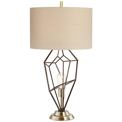 Franklin Iron Works Shane Nightlight Table Lamp Lamp Table Lamp