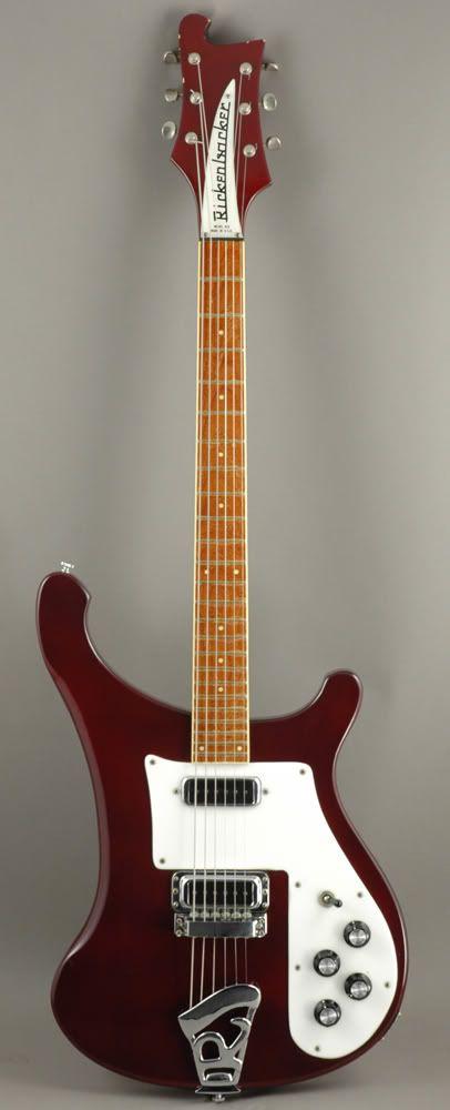Rickenbacker 480 Guitar ... mines black