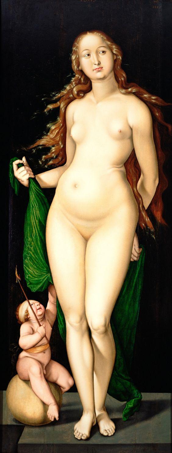 Hans Baldung Grien - Venus and Amor