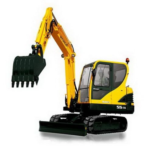 Hyundai Crawler Excavator Robex 55 7a R55 7a Repair Manual Download Hyundai Excavator Crawlers