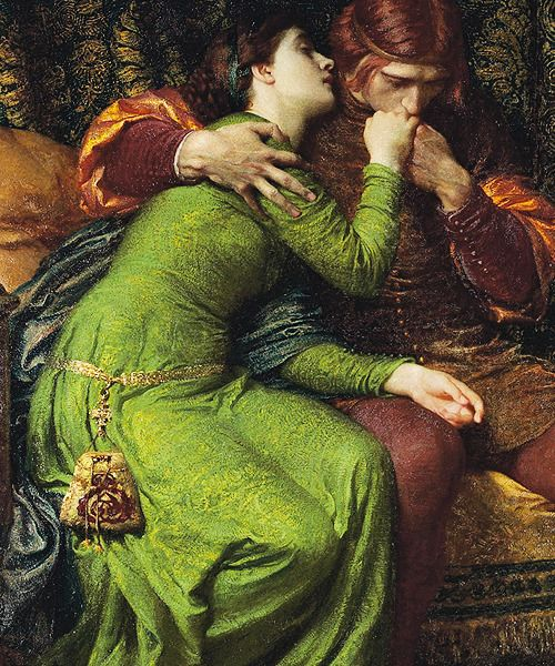 Jaded Mandarin — marcuscrassus: Sir Frank Dicksee - Paolo and...