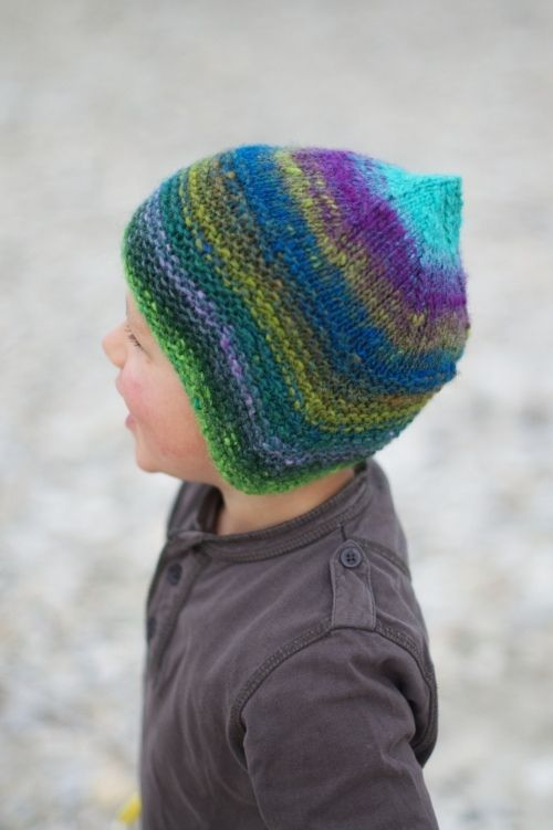 Woolly Wormhead - Quynn - knitting pattern for childs Hat