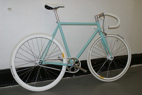 RAL 6027 by Mission Bicycle, via Flickr