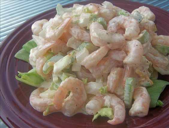creamy shrimp and celery salad yummly creamy shrimp and celery salad ...