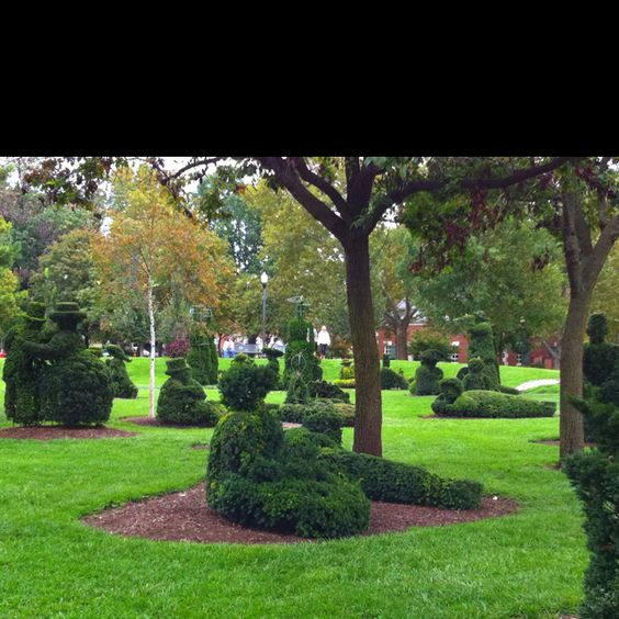Topiary Garden Columbus Oh Oh The Places I 39 Ve Lived